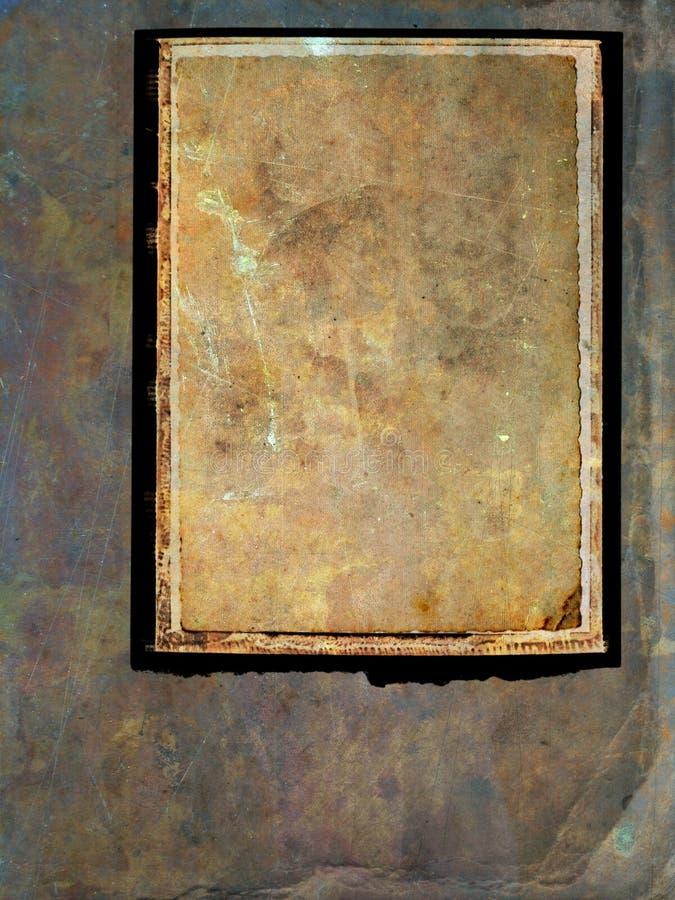 Fondo del marco de Grunge imagen de archivo