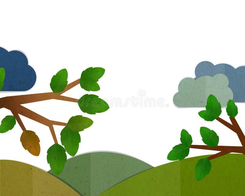 Fondo del marco de la naturaleza libre illustration