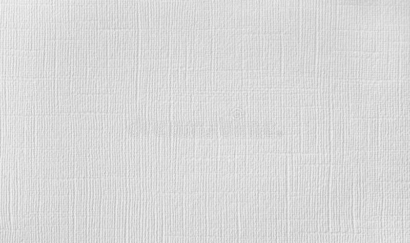 Fondo del material natural, estera decorativa, papel pintado blanco con la textura de lino fotografía de archivo