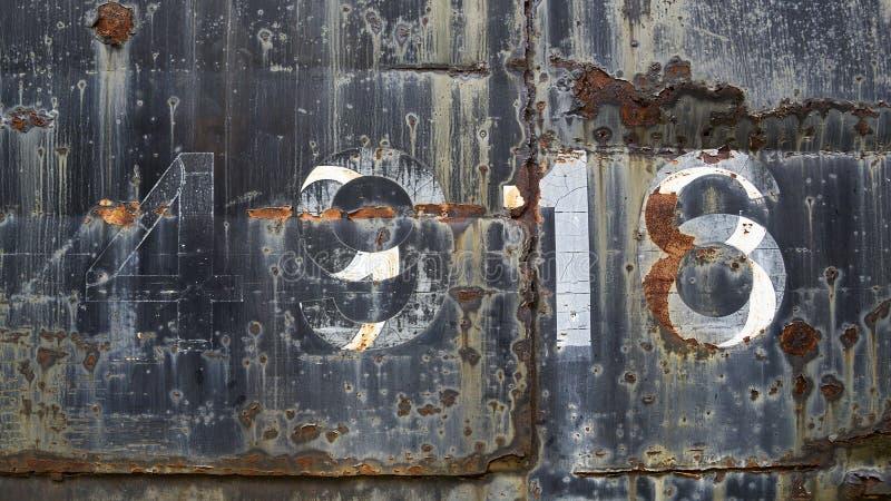 Fondo del metal de Grunge imagen de archivo libre de regalías