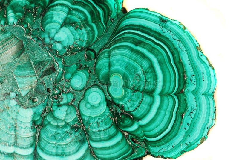 Fondo del minerale della malachite fotografia stock libera da diritti