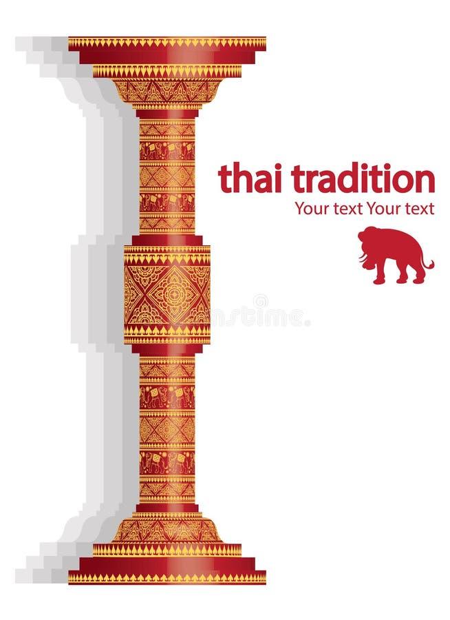 Fondo del modello dell'elefante sul vettore della colonna royalty illustrazione gratis