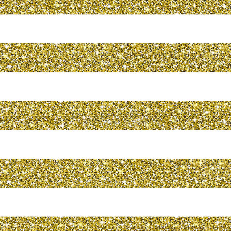 Fondo del modello a strisce di scintillio dell'oro illustrazione di stock