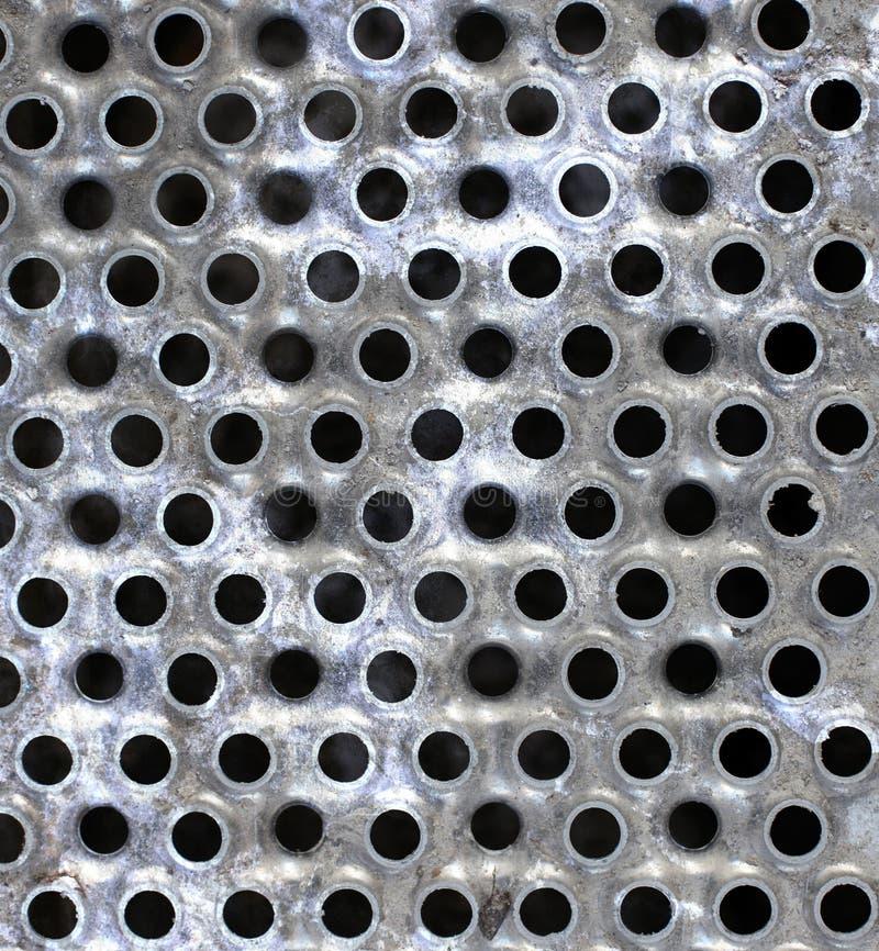 Fondo del modelo del metal de Grunge imagen de archivo