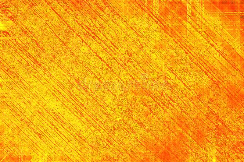 Fondo del modelo del extracto del color del amarillo del grunge del arte libre illustration
