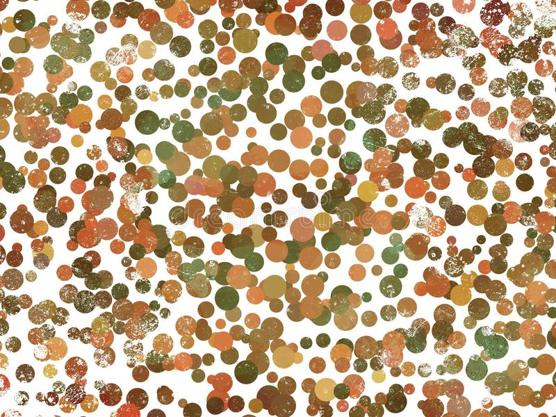 Fondo del modelo punteado del grunge del arte stock de ilustración