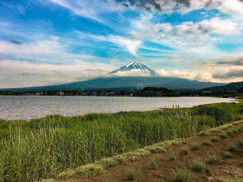Fondo del monte Fuji imagen de archivo