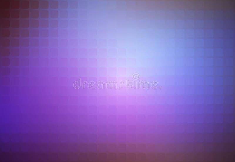 Fondo del mosaico arrotondato estratto rosa lilla porpora illustrazione vettoriale