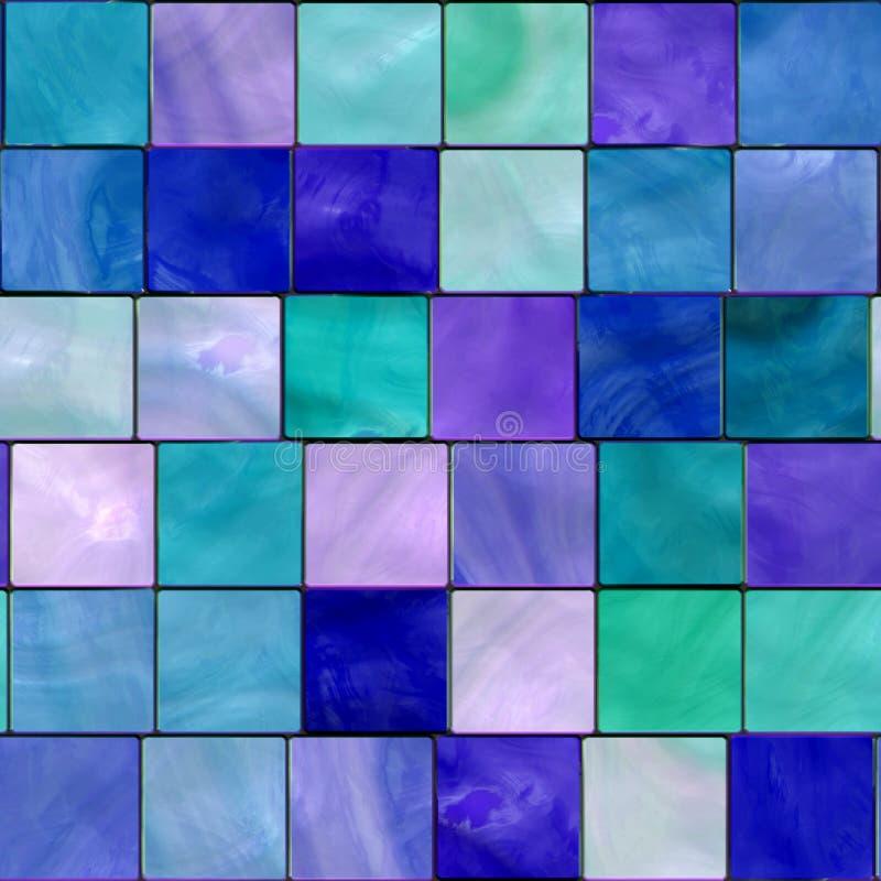 Fondo del mosaico del azulejo ilustración del vector