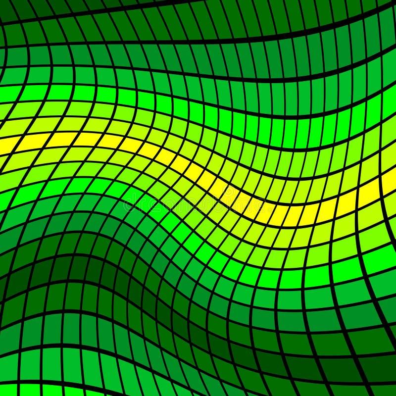 Fondo del mosaico del vector libre illustration