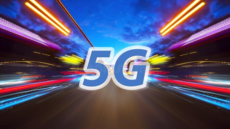Fondo del mosso con 5G immagini stock libere da diritti