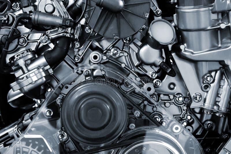 Fondo del motor de coche imagenes de archivo