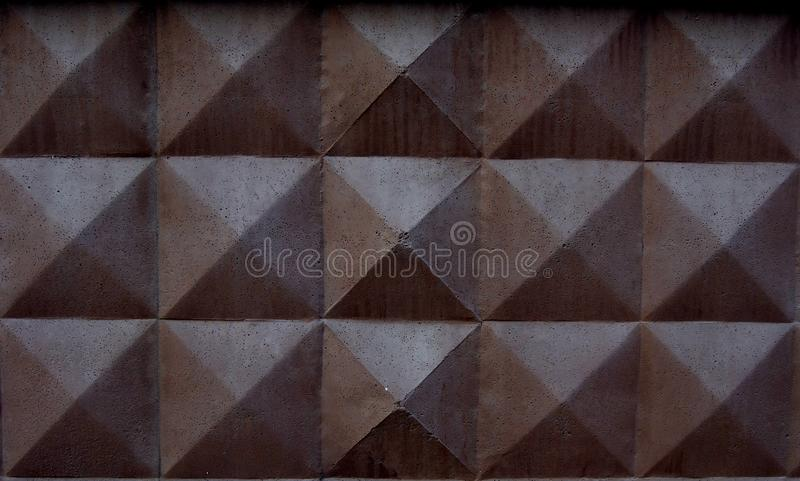 Fondo del muro de cemento de Brown fotos de archivo