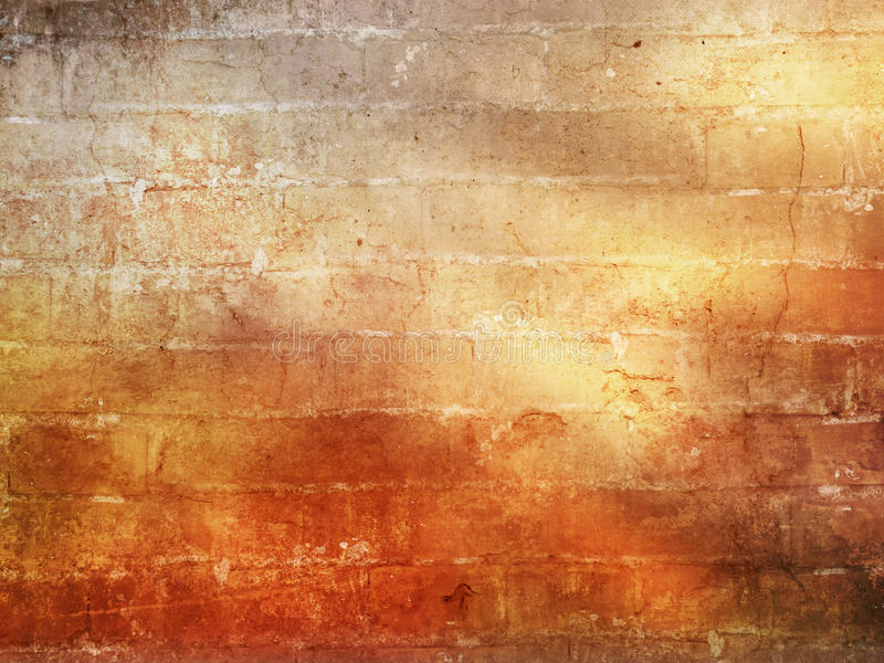 Fondo del muro di mattoni nello stile di lerciume fotografie stock libere da diritti