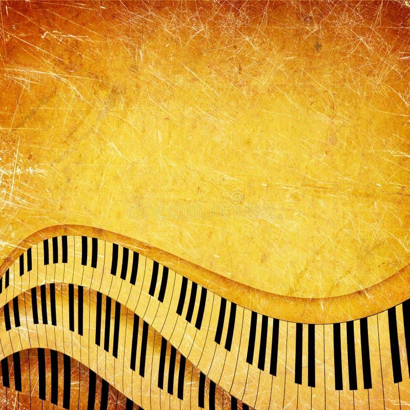 Fondo del musical de Grunge foto de archivo libre de regalías