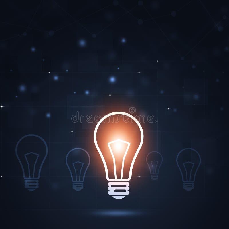 Fondo del negocio del concepto de la idea libre illustration
