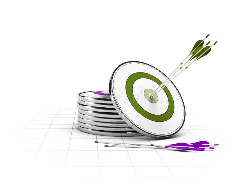 Fondo del negocio, diseño corporativo ilustración del vector