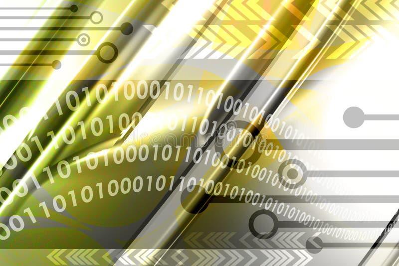 Fondo del ordenador ilustración del vector