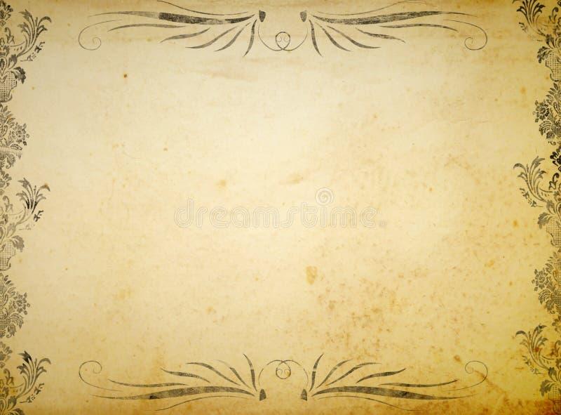 Fondo del ornamento del Victorian ilustración del vector