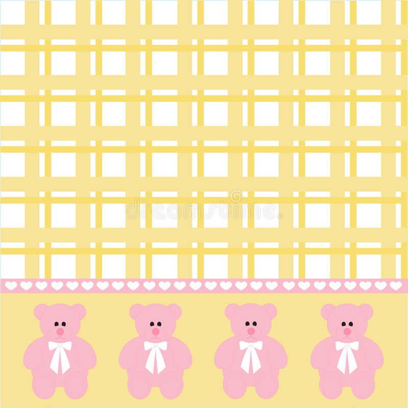 Fondo del oso del bebé libre illustration