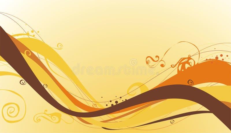 Download Fondo del otoño ilustración del vector. Ilustración de extracto - 7151408