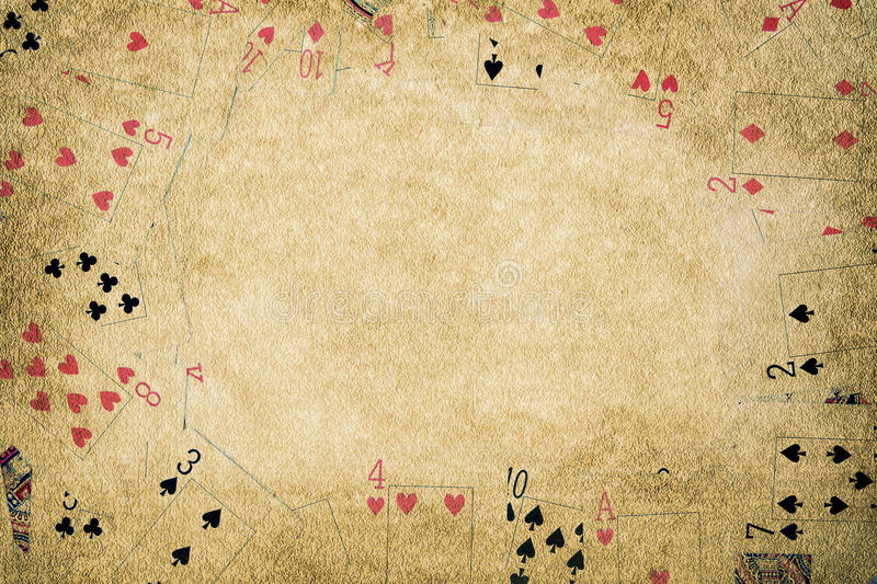 Fondo del póker fotos de archivo