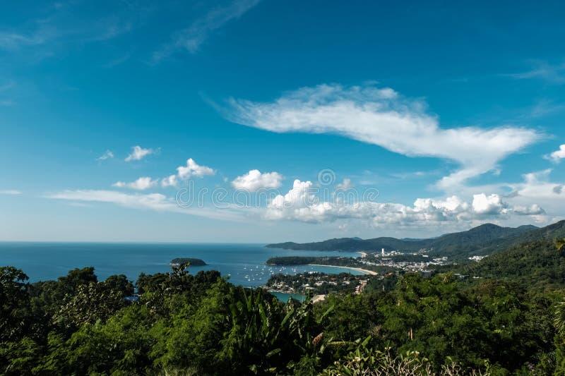 Fondo del paisaje marino fotografía de archivo libre de regalías