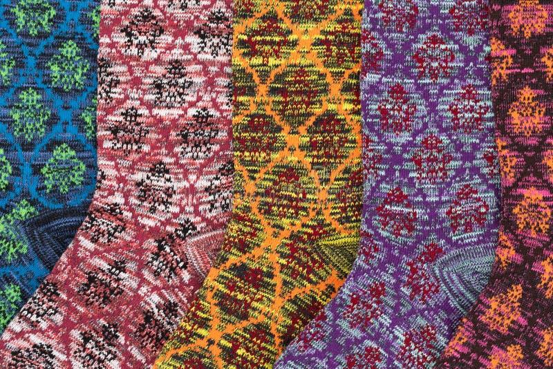Fondo del panno colorato luminoso fotografie stock libere da diritti