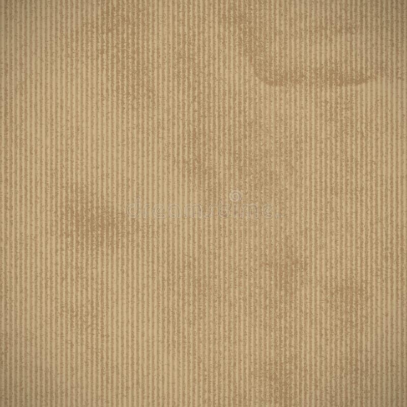 fondo del papel de Kraft stock de ilustración