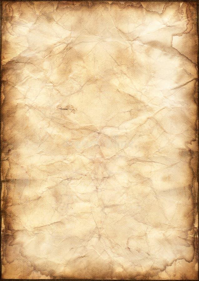 Fondo del papel de pergamino fotografía de archivo libre de regalías