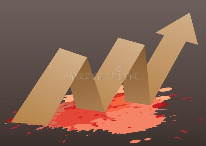 Fondo del papel del vector de Origami ilustración del vector