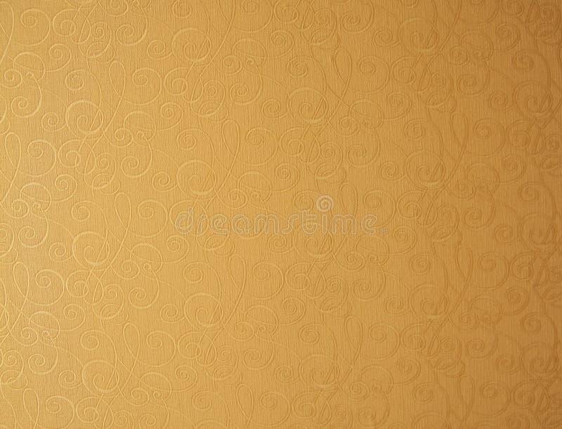 Fondo del papel pintado amarillento. foto de archivo libre de regalías