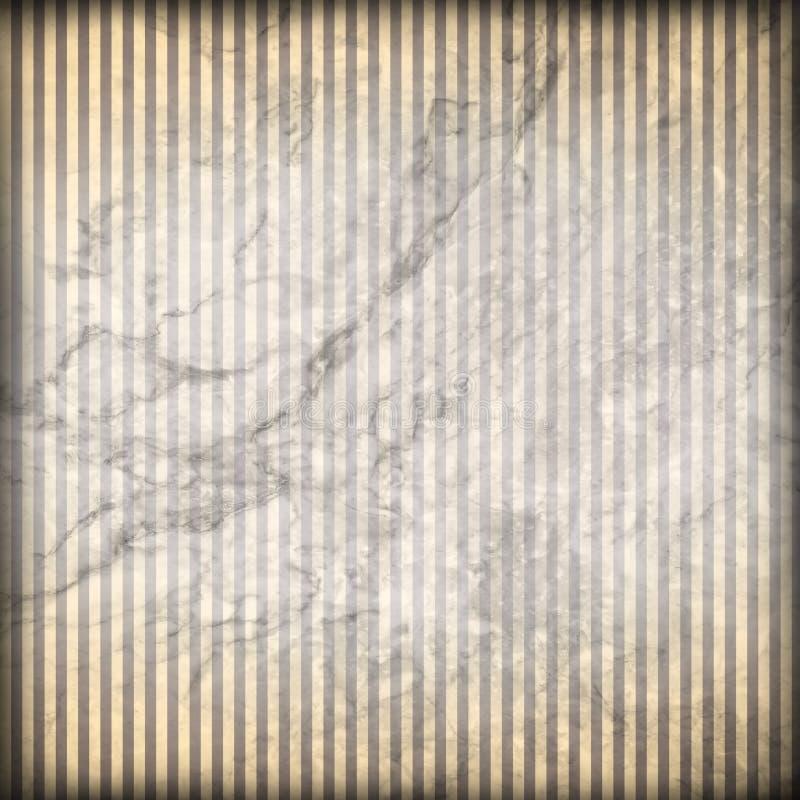 Fondo del papel pintado de la tela a rayas del pergamino de la cultura de New Orleans de la vida de Luisiana ilustración del vector