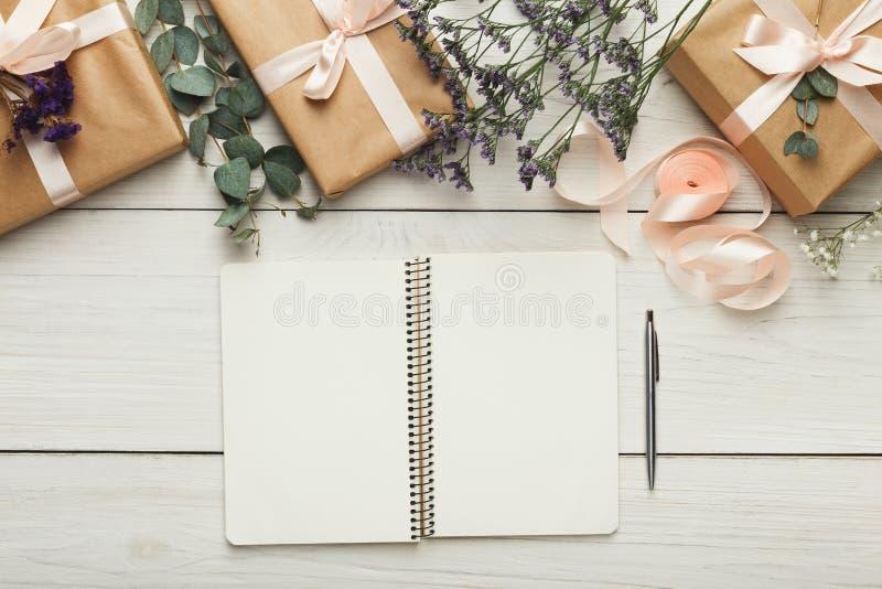Fondo del pianificatore di nozze immagine stock
