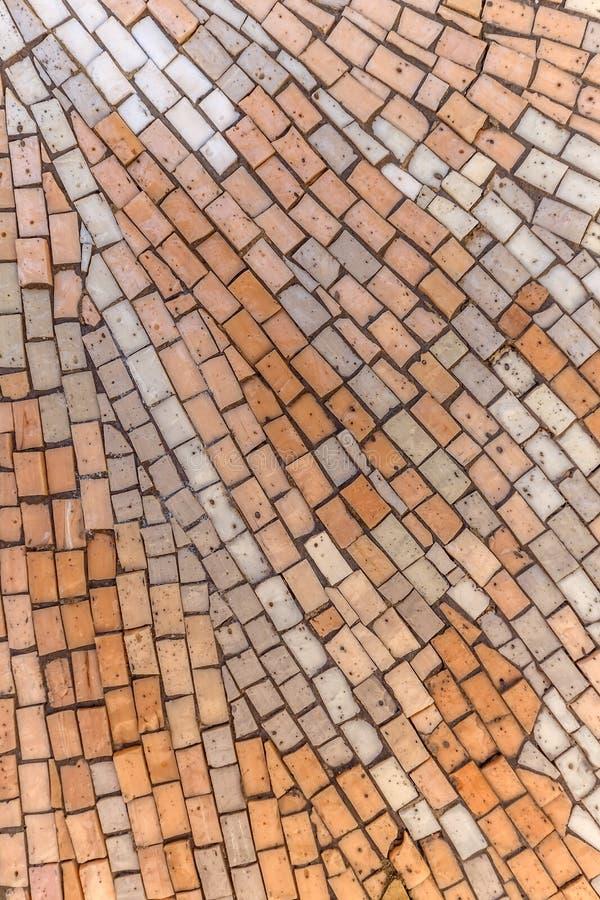 Fondo del piso de mosaico foto de archivo