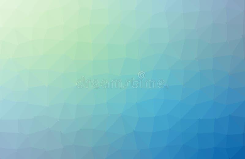 Fondo del pol?gono o marco colorido del vector Fondo geom?trico del tri?ngulo abstracto, ejemplo del vector Diseño geométrico par ilustración del vector