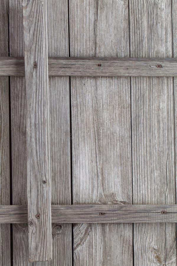 Fondo del primer de la vieja textura de madera gris imagen de archivo