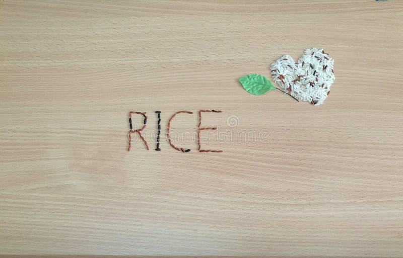 Fondo del riso immagini stock libere da diritti