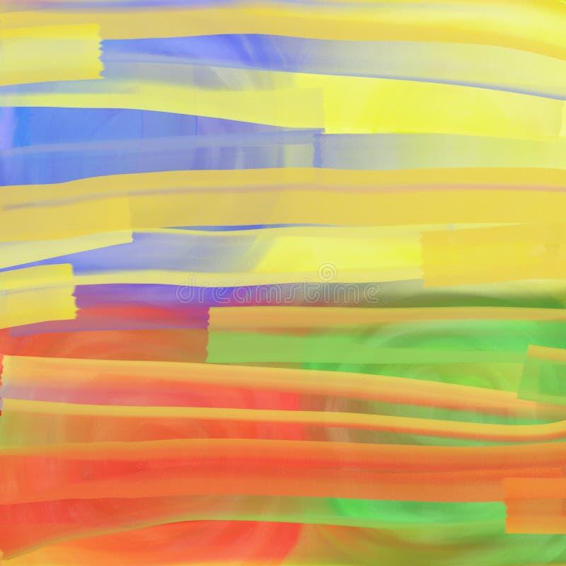 Fondo del rodillo del Watercolour libre illustration