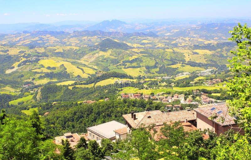 Fondo del San Marino fotografie stock