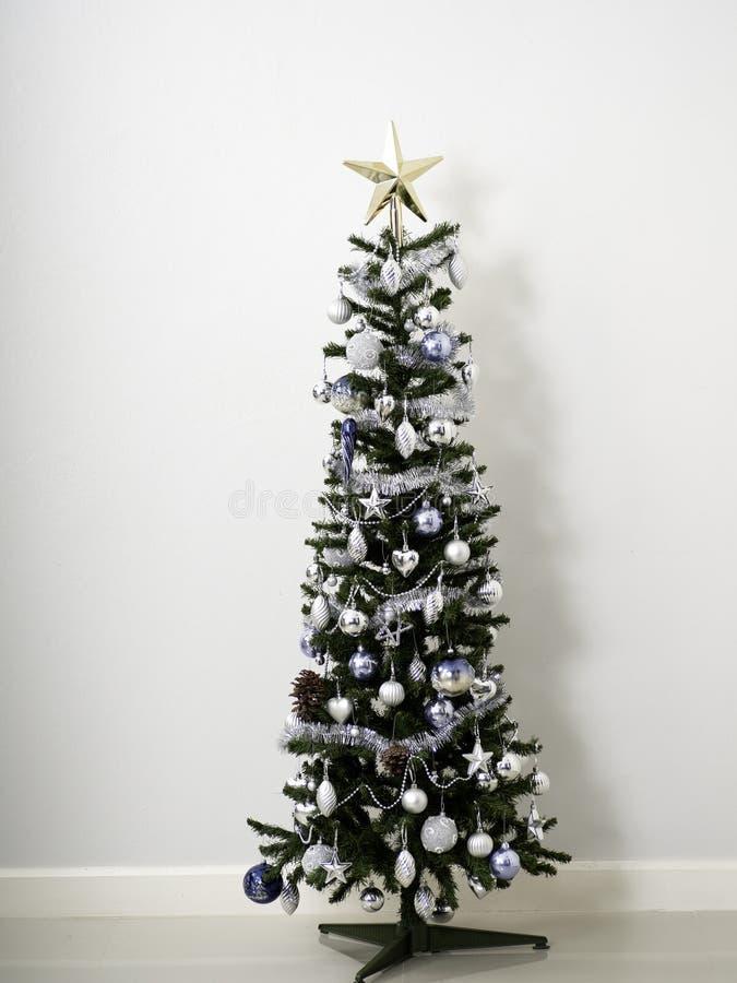 fondo del sitio del árbol de navidad fotos de archivo