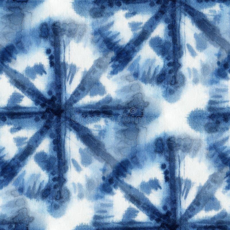Fondo del teñido anudado imagenes de archivo