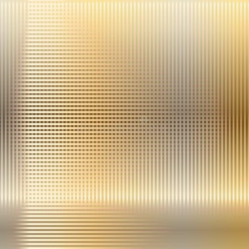 Fondo del techno de la malla metálica ilustración del vector
