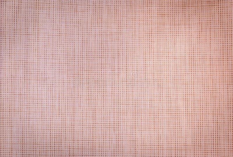 Fondo del tessuto di Brown fotografie stock