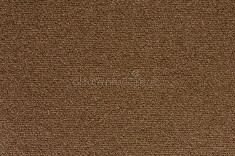 Fondo del tessuto in primo piano adorabile di colore del cioccolato fotografia stock libera da diritti