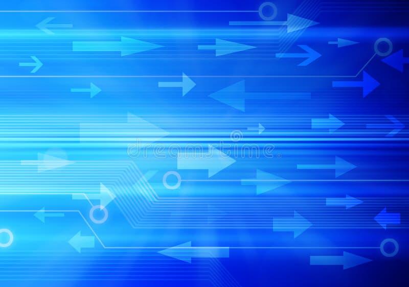 Fondo del tráfico de datos de la información