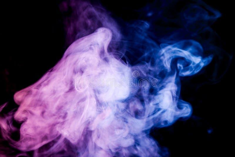 Fondo del vape del humo imagen de archivo