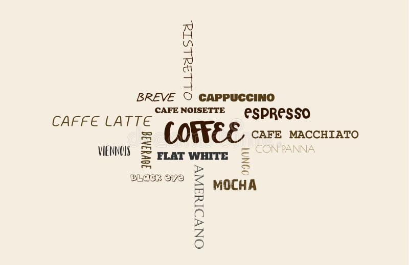 Fondo del vector con los granos de café ilustración 3D libre illustration