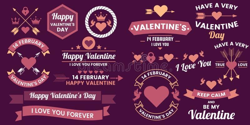 Fondo del vector de la bandera de la plantilla de la tarjeta del día de San Valentín para la bandera ilustración del vector