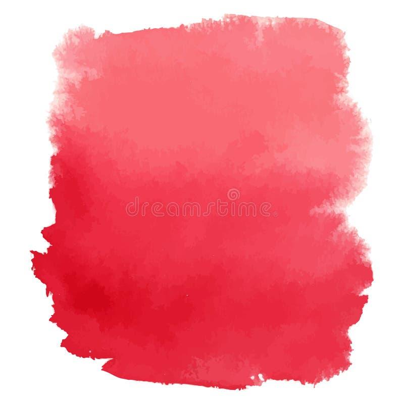 Fondo del vector de la pendiente de la acuarela del vino rojo libre illustration